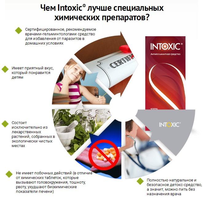 Противопоказания лекарства Интоксик Плюс