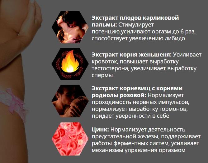 Состав EroForce (ЭроФорс) для мужщин