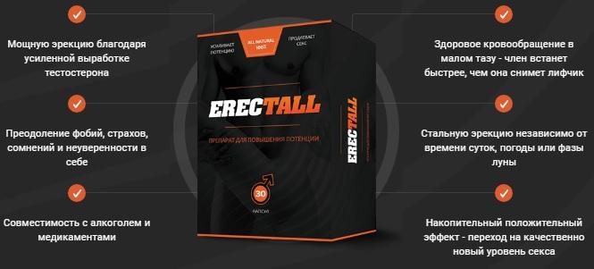 Реальные и отрицательные отзывы о Эректол (ErecTALL)