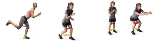 Какие упражнения можно выполнять с латексными резинками?