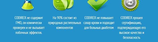 Отзывы покупателей о Codirex на форумах есть?