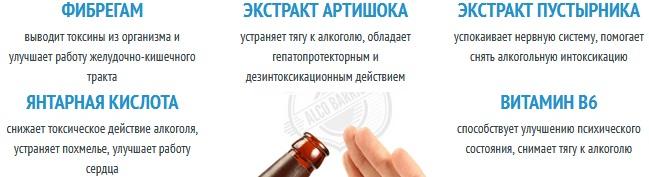 Состав таблеток Codirex