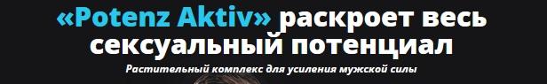Официальный сайт производителя Potenz Aktiv