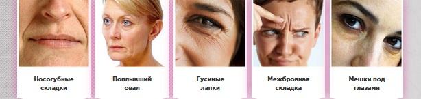 Признаки старения кожи вокруг глаз