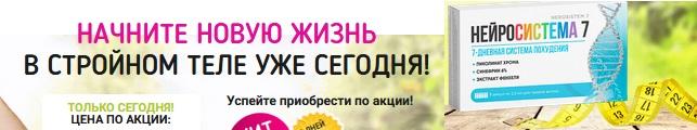 Официальный сайт производителя Нейросистема 7