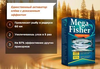 MEGA FISHER стимулятор улова развод? Отзывы о приманке для рыбы
