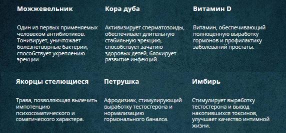 Состав таблеток Эронестил