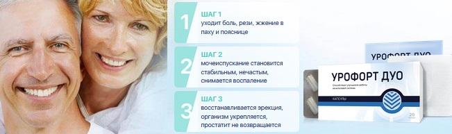 Официальный сайт производителя Урофорт Дуо